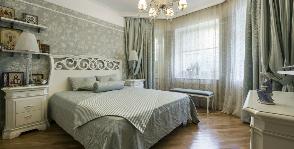 Спальня в стиле прованс: дизайнер Наталья Медведева