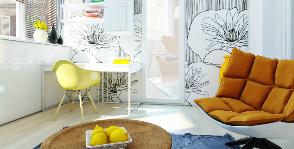 Балкон-кабинет: как сделать из лоджии полноценную комнату