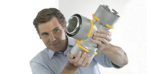 Uponor выпускает конструктор для водопровода и отопления