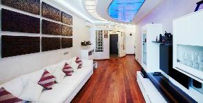 Семейный хайтек – трехкомнатная квартира, где для всех нашлось место: дизайнер Петр Балашов