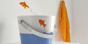 Scarabeo Ceramiche предлагает умываться в ведре