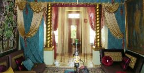 Гостиная в восточном стиле: дизайнер Екатерина Турбина