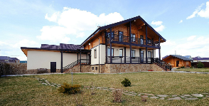 Двухэтажный дом из газобетона под Казанью: дизайнер Ленар Султанов