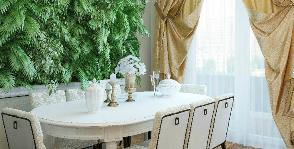План столовой зоны в таун-хаусе: проект Полины Лебедевой