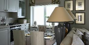 Классический интерьер в маленькой квартире: нет проблем