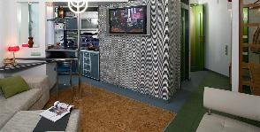 Компактная квартира в Киеве для партнеров по бизнесу: дизайнер Сергей Собанин