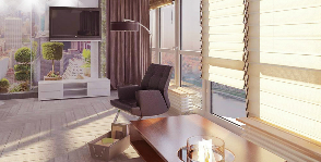 Однокомнатная квартира для мамы и двух дочерей с открытым пространством: дизайнер Мария Свидинская