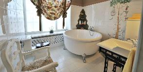 <strong>7</strong> советов, как оформить ванну в стиле прованс