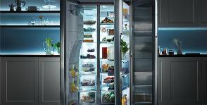 В холодильнике Samsung легко искать еду