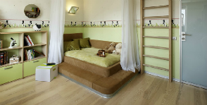 Современная спальня для девочки: без лишнего пафоса