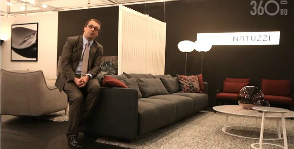 &laquo;Умный&raquo; релакс Natuzzi. <br>Видео с iSaloni WorldWide Moscow 2014