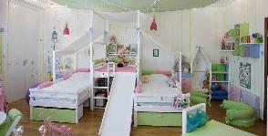 Как оборудовать места для хранения в детской комнате