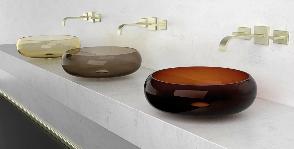 Glass Design создает раковины из хрусталя
