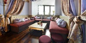 Кальянная как запасная спальня: дизайн архитектурного бюро LINE8