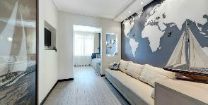 Как оформить комнату для мальчиков в морском стиле