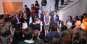 Предновогодняя вечеринка в шоу-руме Fifth Avenue