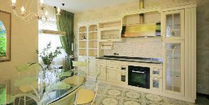 Кухня прованс: дизайнер Светлана Байдюк