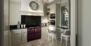 Кухня в доме на набережной: дизайнер Анна Яровикова