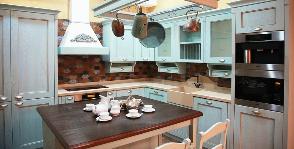 Кухня в стиле прованс: дизайнер Мария Остроумова