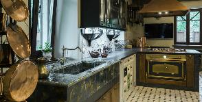 Проект кухни под старину: дизайнер Татьяна Сорокина