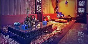 Восточное оформление гостиной: дизайнер Александр Слепцов