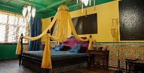 Гостевая спальня в восточном стиле: дизайнер Александр Белобородов