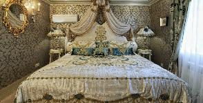 Спальня в классическом стиле: дизайн студии «БЕРНИдизайн»