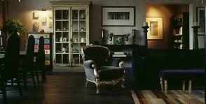 Темная гостиная в стиле классика: дизайнер Наталия Чернейко