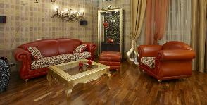Готика и ар-деко в гостиной: дизайнер Светлана Байдюк