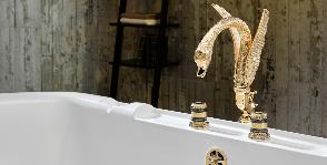 Смесители-лебеди в «Декор Буржуа»