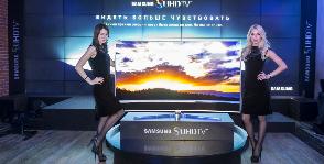 Изогнутые телевизоры Samsung в России