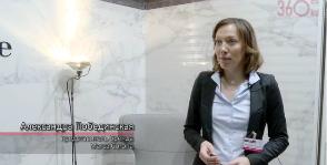 Модные гексагоны Marca Corona.<br>Видео с выставки Batimat Russia 2015