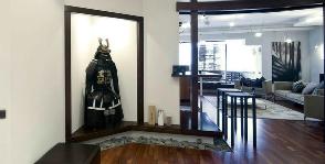 Японский стиль в интерьере квартиры: дизайнер Владимир Мельниченко