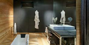 Ванная в загородном домике: студия Design Lab YOD