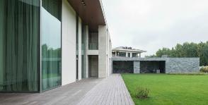 Загородный дом в стиле минимализм: архитектурное бюро UNK Project