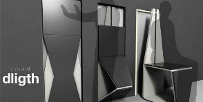 Стеновые панели превращаются… в стулья