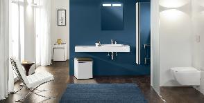 Коллекции для ванных комнат Vivia бренда Villeroy & Boch