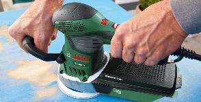Bosch шлифует без пыли