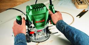 Bosch обрабатывает древесину креативно