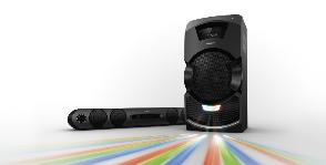Sony сокрушает мощностью звука