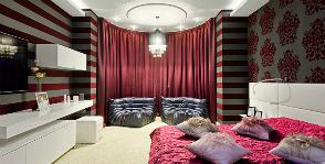 <strong>5</strong> примеров дизайна спальни с эркером