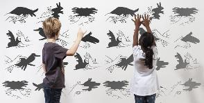<b>15</b> способов декорировать детскую при помощи фотообоев