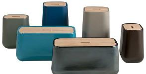 Корзина, картонка: как использовать декоративные коробки в интерьере