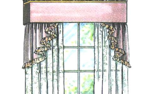 Дизайн карнизов для штор фото