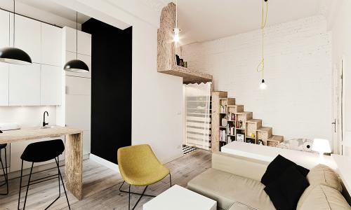 Кабинет-библиотека дизайн