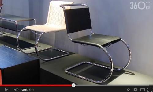 Архитектурное наследие Thonet. Видео с выставки iSaloni 2014