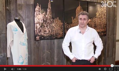 Хобби архитектора. Видео с выставки Сергея Эстрина