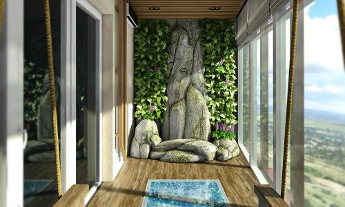 Как красиво сделать балкон фото
