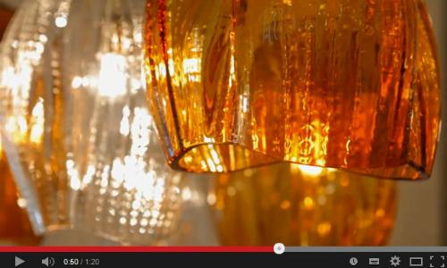 Семь чудес света Preciosa Lighting. Видео с iSaloni WorldWide Moscow 2014
