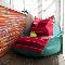 Кресло-мешок: как вписать его в разные стили
